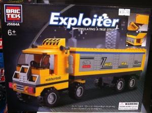 """""""BrikTek container truck"""""""