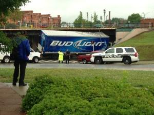 """sombody set us up the beer"""