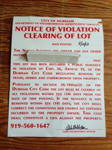 """notice of violation"""