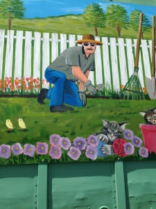 """""""heisenberg mural"""""""